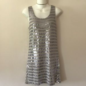 ⭐️ FOREVER 21 SILVER SEQUIN PARTY DRESS⭐️
